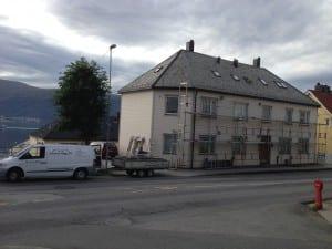 Maling Borgundveien av fasade - Johnsen Bygg As